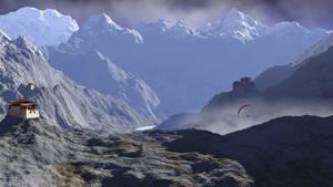Valley Flying by capn-damo