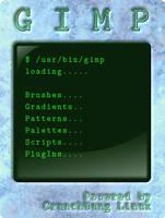 GIMP splash 2 by capn-damo
