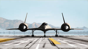 SR-71 Blackbird Render