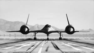 SR-71 Blackbird render bw by capn-damo