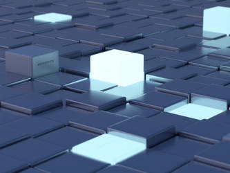 Crunchbang CubesGlow 2 by capn-damo