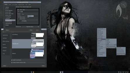 BunsenLabs+FlatStudio Screenshot