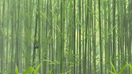 Bamboo Butterfly by capn-damo