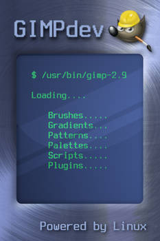 Gimp-2.9 Splash screen