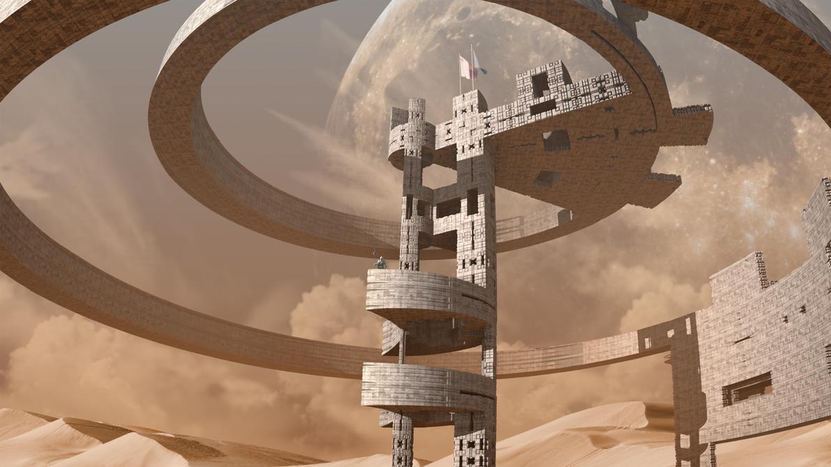 Desert Outpost by capn-damo