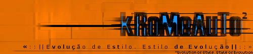 kRoMeAuTo banner v2dot0 by gtakreyz
