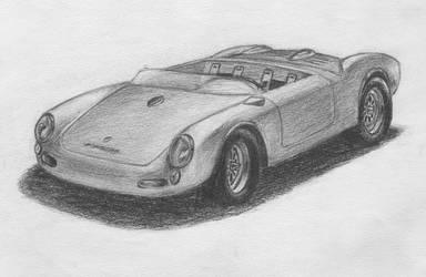 Porsche 550 Spyder by gtakreyz