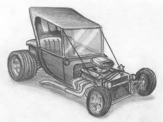 Ford T Bucket by gtakreyz
