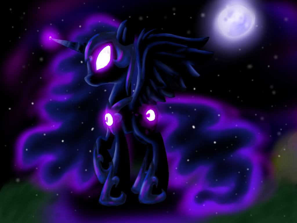 The Moon Will Rise by XTiMe-WaRpEdX