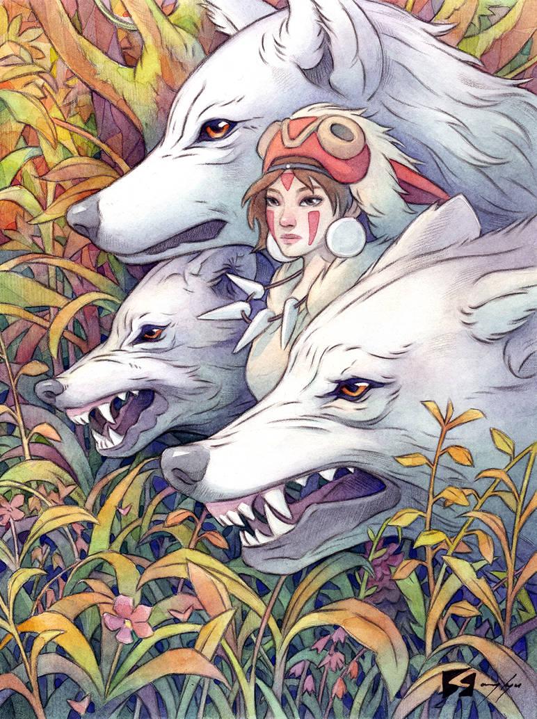Princess Mononoke by SKMOON