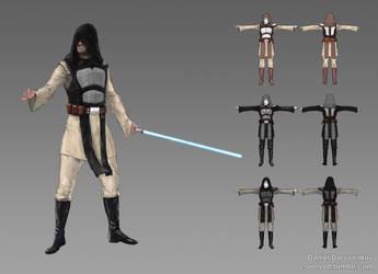 Jedi/Sith armour. by cruorvolt
