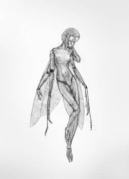 Mantis girl.