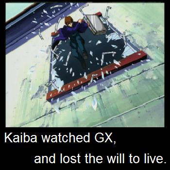 seto kaiba's reaction to GX by markdean2012