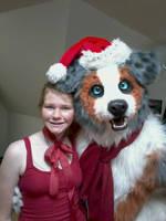 Tycho Christmas Elf by Tychoaussie