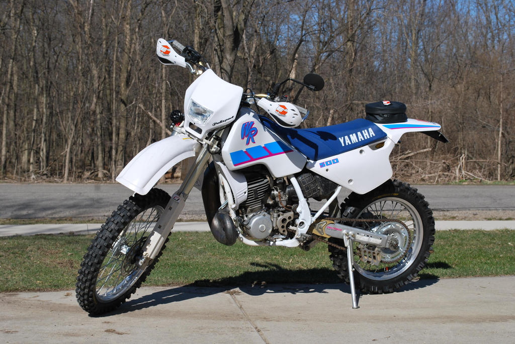 1992 yamaha wr500 dualsport by tychoaussie on deviantart for Yamaha dual sports