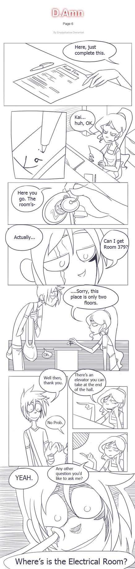 D.Amn (comic) - page 6 by EmptyShadow