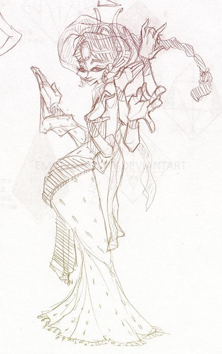 Indo Goddess by EmptyShadow