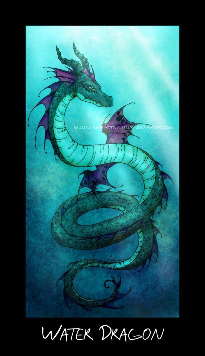 Water Dragon by Leelian