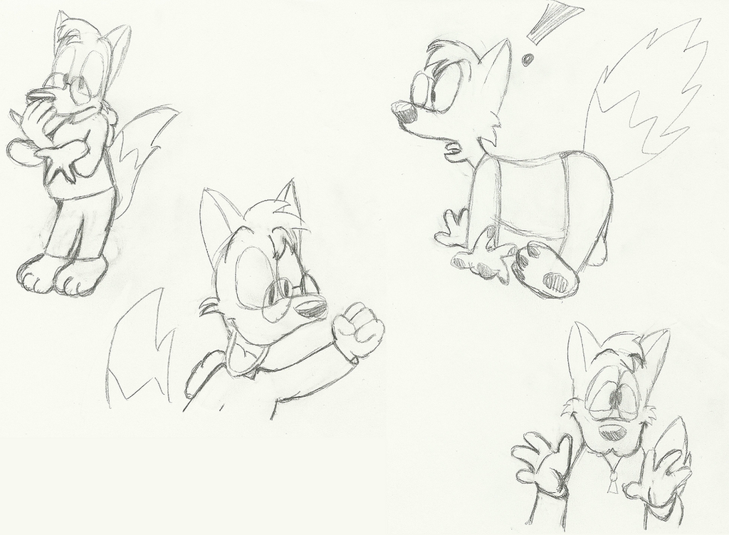 Specs the Fox Doodles 10-8-15 by MetaKnight2716