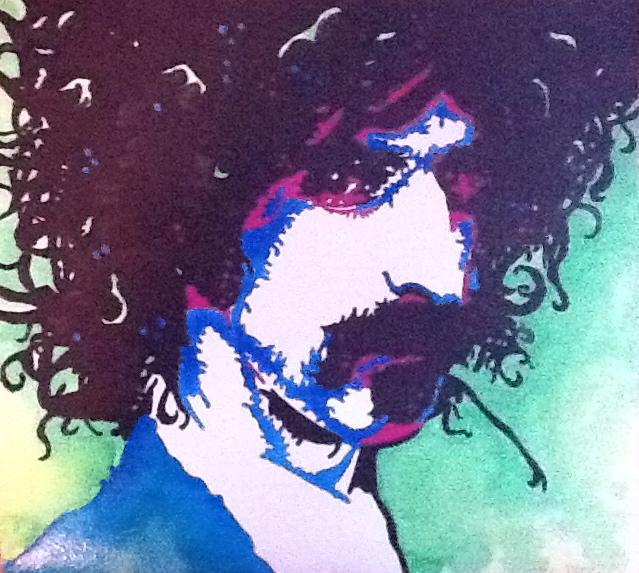 Frank Zappa III by alipriceart