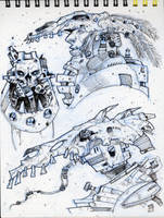 Page from my Merida Sketchbook by Axel13-Gallery