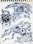 Page from my Merida Sketchbook