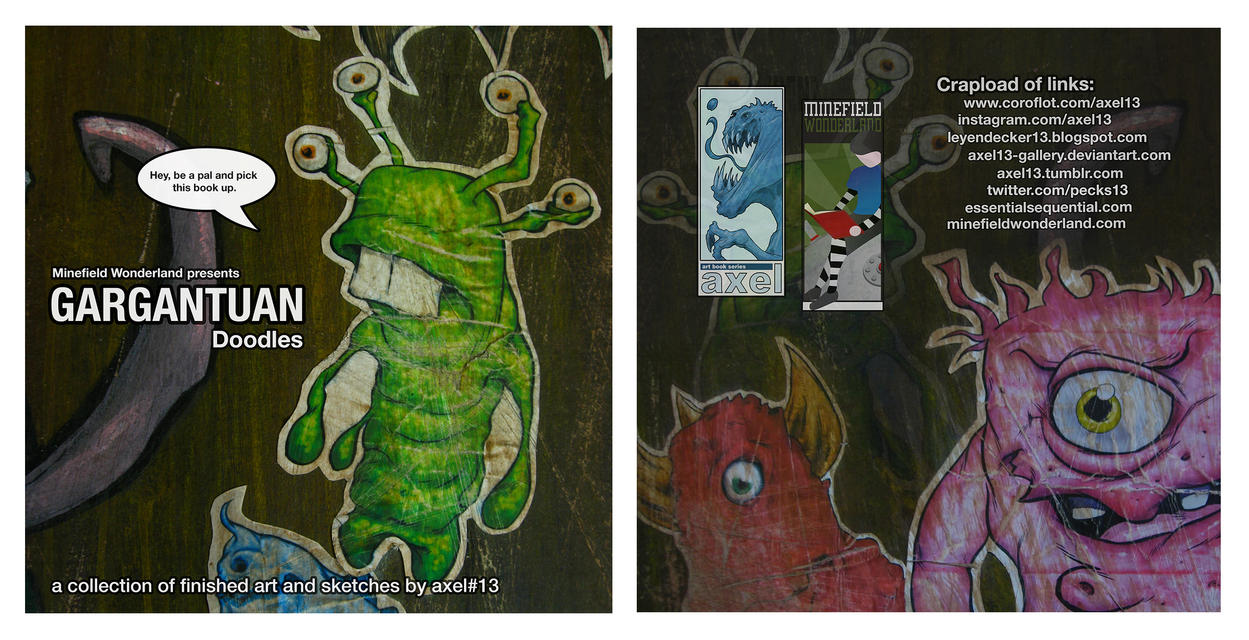 Gargantuan Art Book covers by Axel13-Gallery
