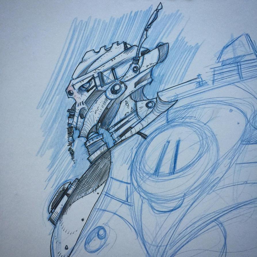 Helmet sketch by Axel13-Gallery