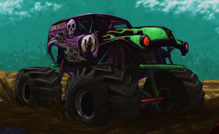 Monster Truck By Axel13 Gallery On Deviantart