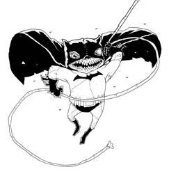 Batman Zombie Inked by Axel13-Gallery