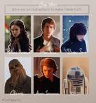 Six Fanarts Challenge (Star Wars)
