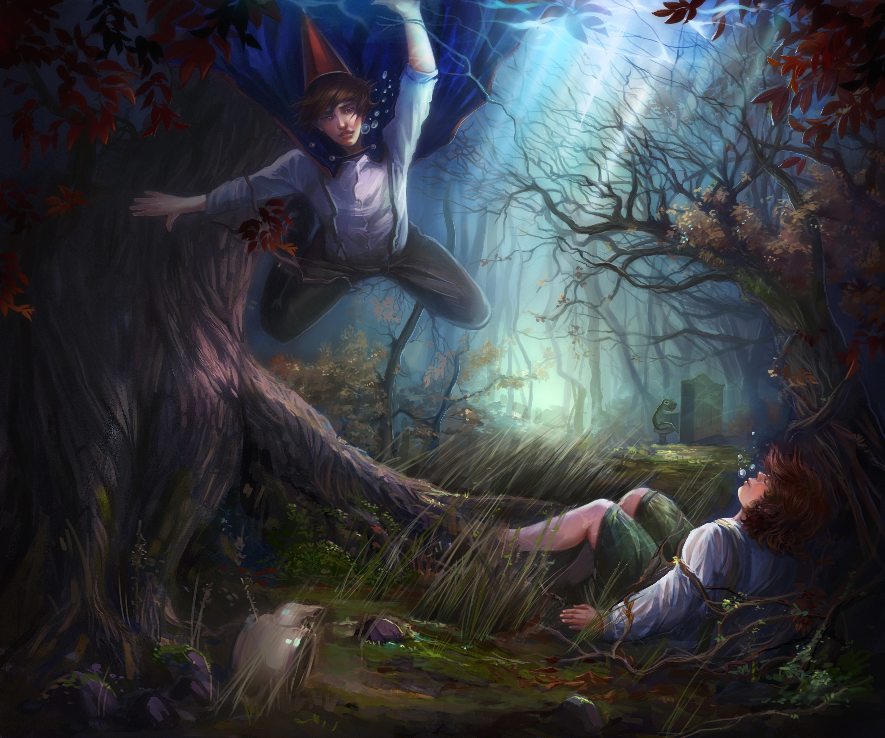 Over The Garden Wall By Lvina D8i48nx By Lvina On Deviantart