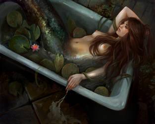 Melancholy by Lvina