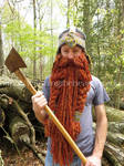 Gimli Inspired Helmet and Beard Crochet Pattern