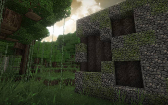 Minecraft Creeper Ruins 2
