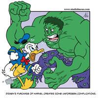 Disney Buys Marvel by StudioBueno