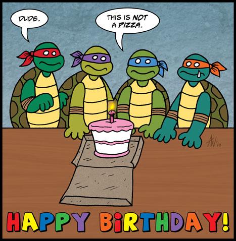 TMNT Birthday by StudioBueno