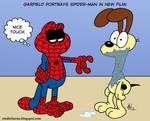 Garfield Plays Spider-Man