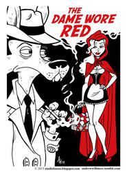 The Dame Wore Red by StudioBueno