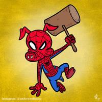 Spider-Ham by StudioBueno