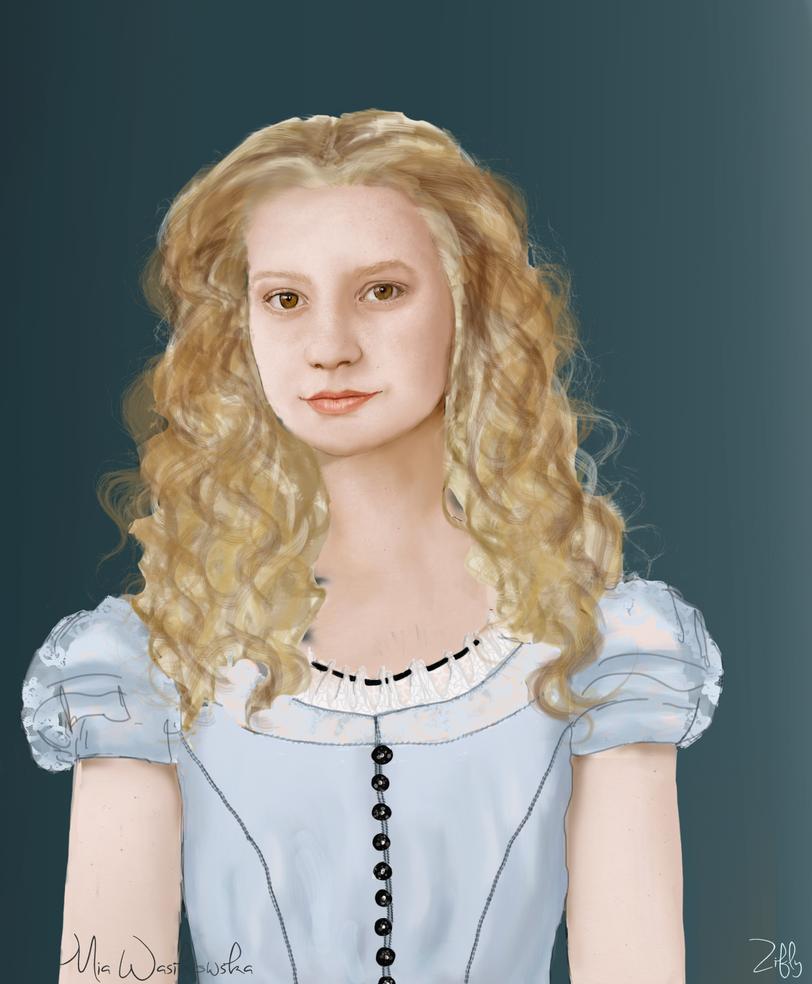 Mia Wasikowska by Zifly