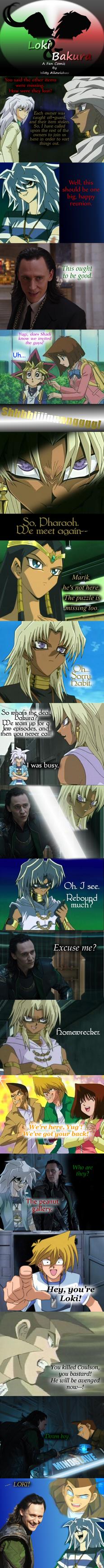 Loki and Bakura XXIV - Villain Rebound by Witty-Allowishus