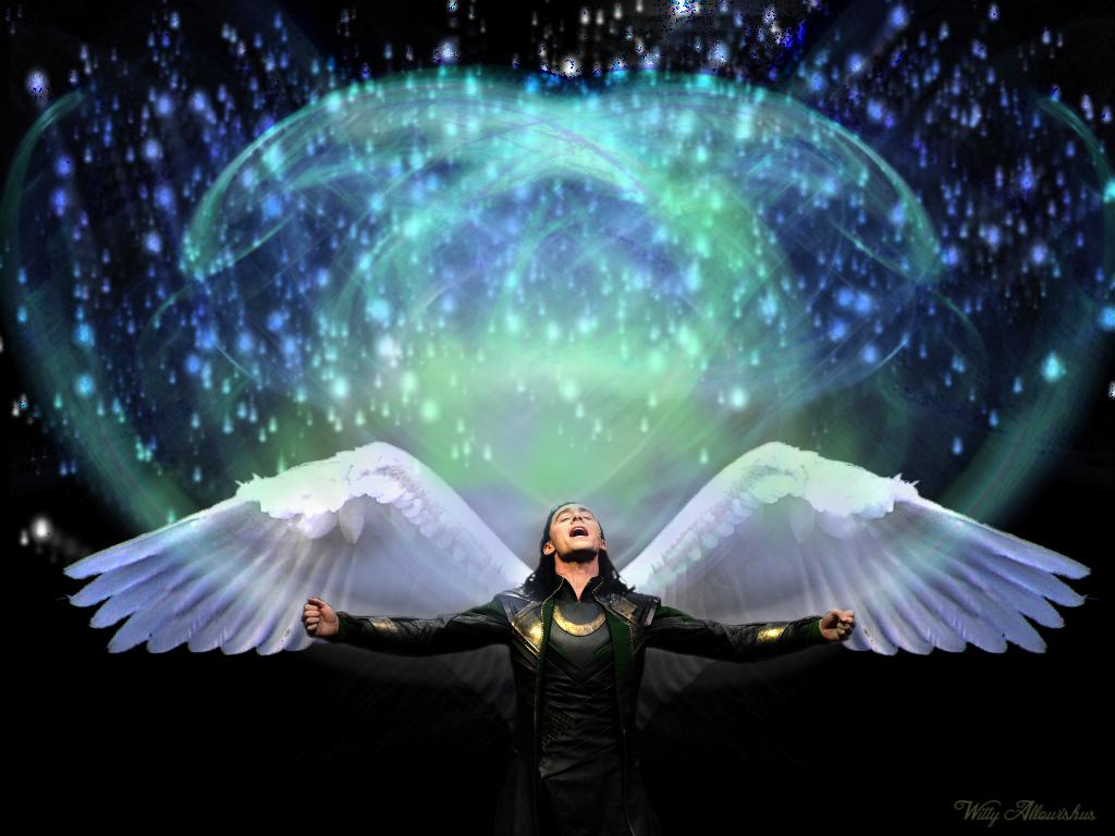 Loki - Glorious Angel by Witty-Allowishus