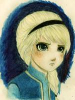 Little Elsa by TheRookieCookie