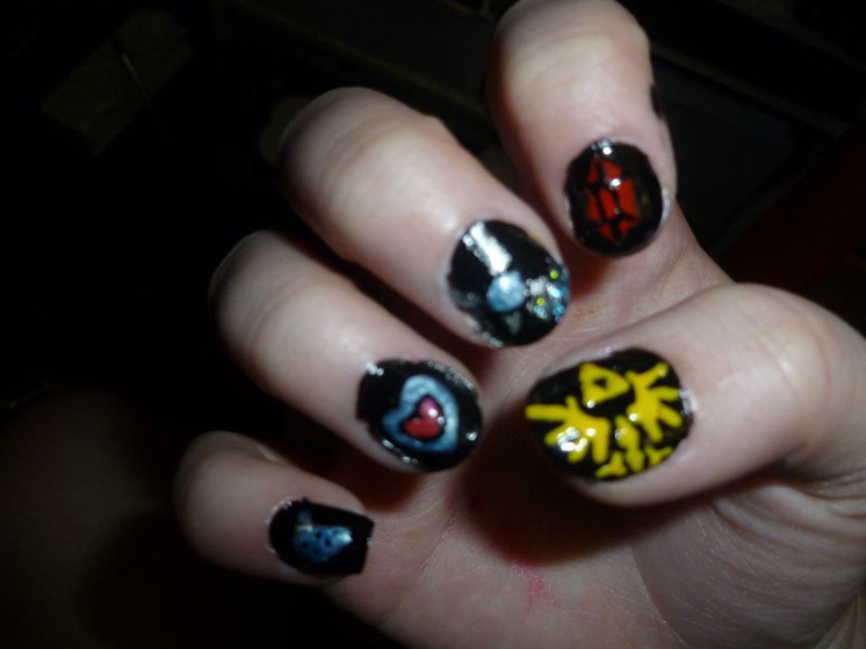 Naruto Nail Designs