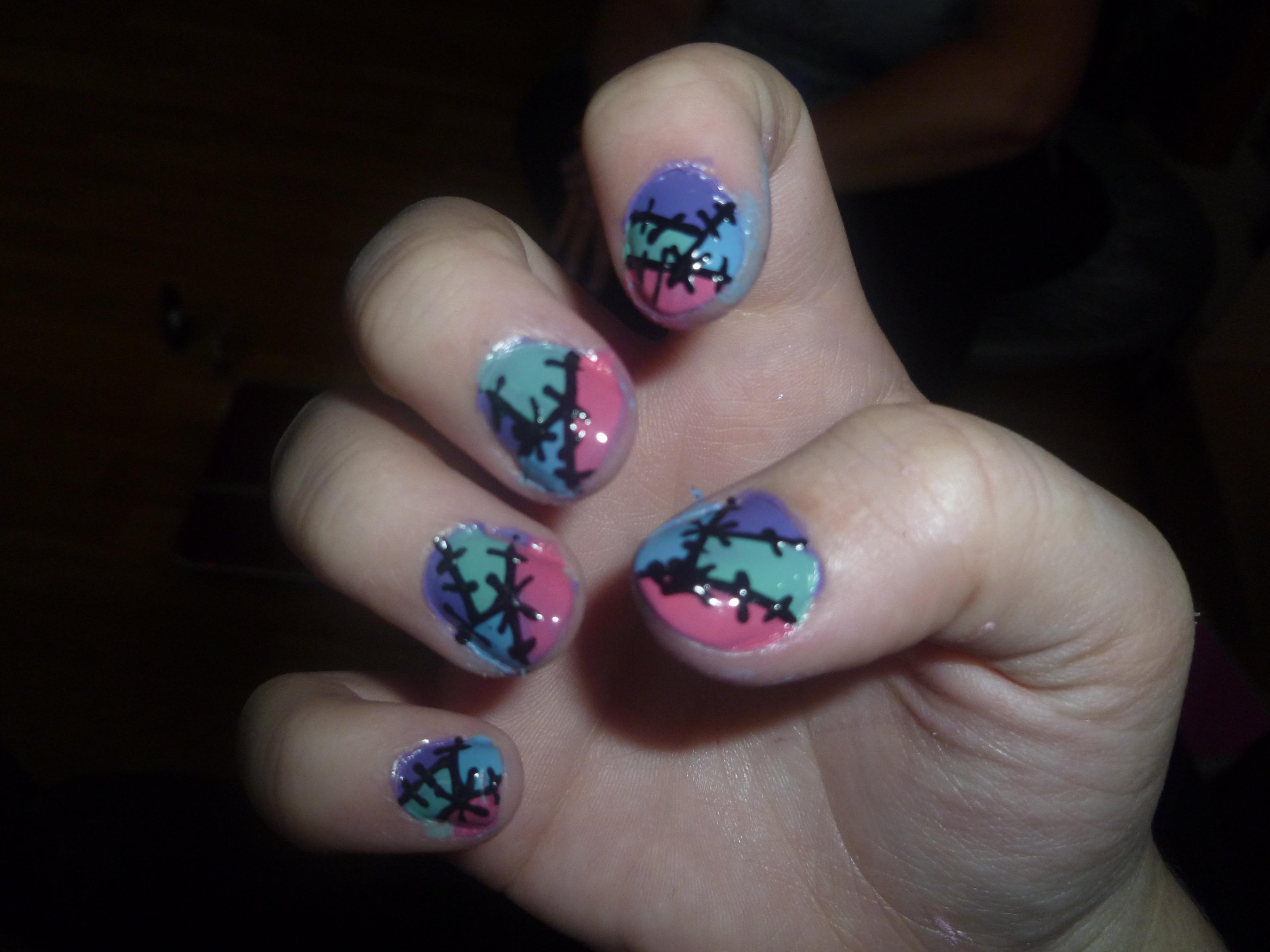 Nail Art Work - Nail Arts