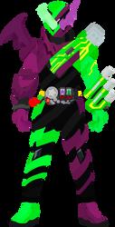Kamen Rider Build BatUSB by TajadorCombo