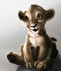 Simba Semi-Realism by katanimate