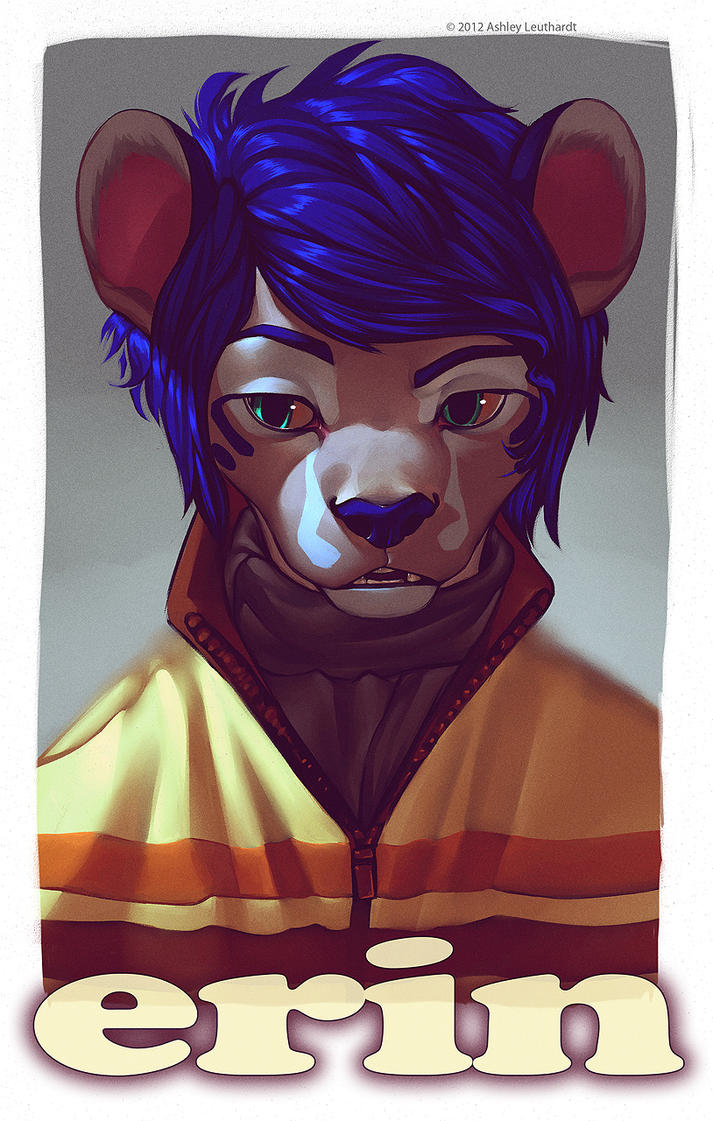 Erin ConBadge by katanimate