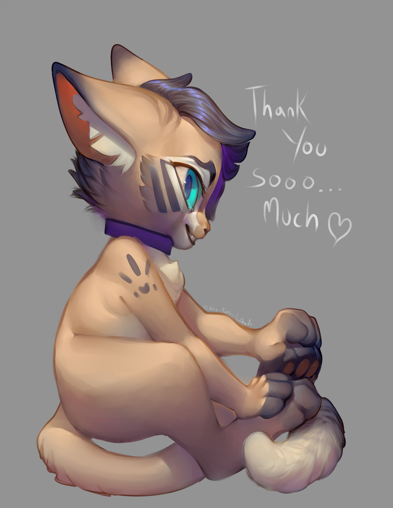 Thank you by katanimate